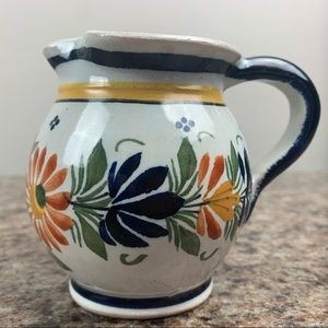 Antique Henriot Quimper Creamer Milk Jug France